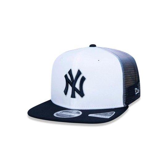 Boné 920 New York Yankees MLB Aba Curva New Era - Compre Agora ... 9ef33cb1926