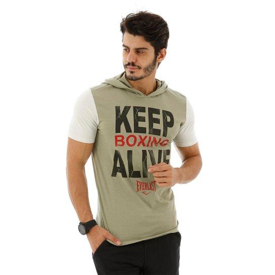 Camiseta Everlast Algodão - Verde e Mescla - Compre Agora  2e9d972a0c8