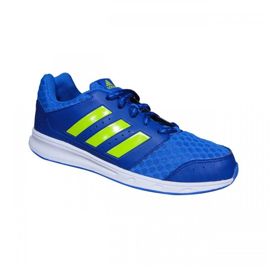 441694505af Tenis Adidas LK Sport 2 K Juvenil - Azul e Verde Limão - Compre ...