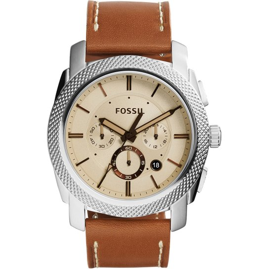 6fc2be22588 Relógio Fossil Pulseira Couro - Compre Agora