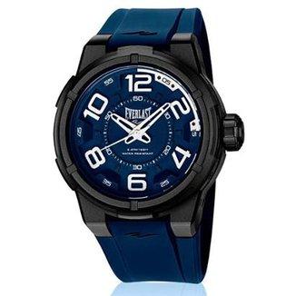 a0e4181deae Relógio Pulso Everlast Torque Caixa Abs Pulseira Silicone