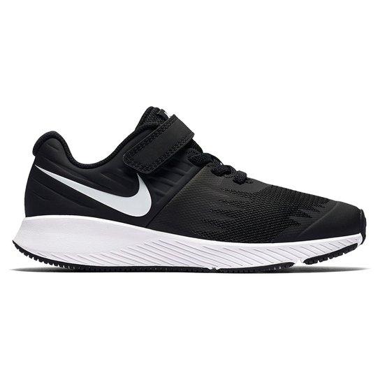 Tênis Infantil Nike Star Runner Feminino - Preto - Compre Agora ... 57c34a657e487