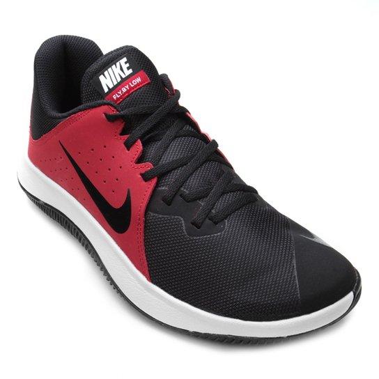 dc2fc78b60e08 Tênis Nike Fly.By Low Masculino - Preto e Vermelho - Compre Agora ...