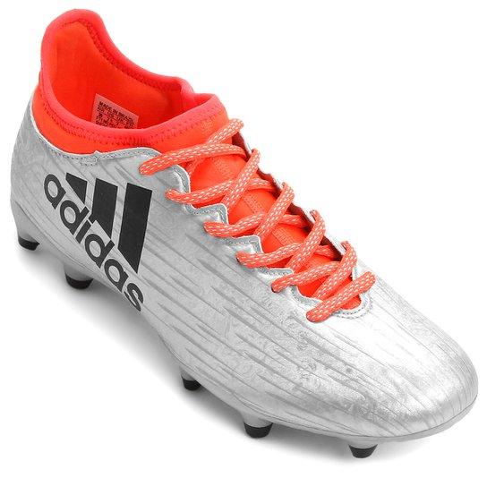 Chuteira Adidas X 16.3 FG Campo - Compre Agora  4c4139b76978d