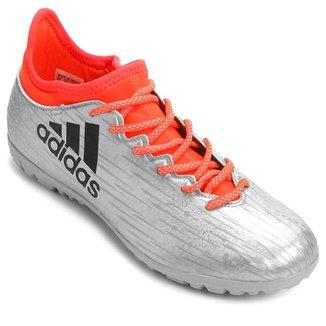 862d74a2f25d2 Chuteira Adidas X 16.3 TF Society