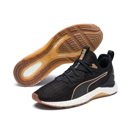 03df51293a Tênis Puma Hybrid Runner Desert Masculino - Preto e Bronze | Netshoes