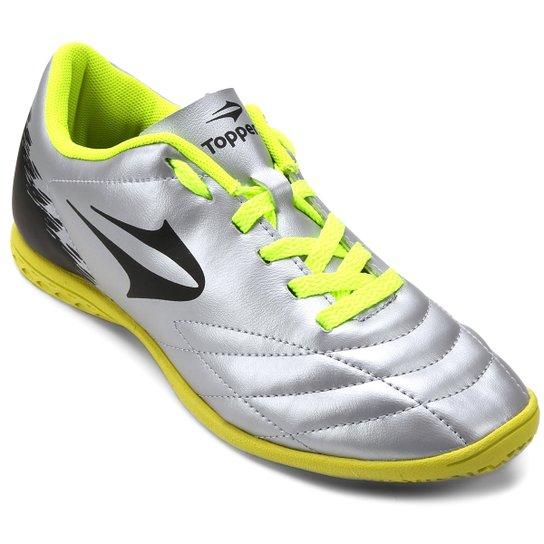 fa2c485d6f099 Chuteira Futsal Topper Slick 2 Masculina - Compre Agora