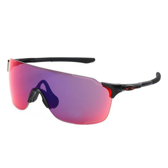 228c2de483f7c Óculos Oakley Evzero Stride Prizm Trail - Preto e Vinho - Compre ...
