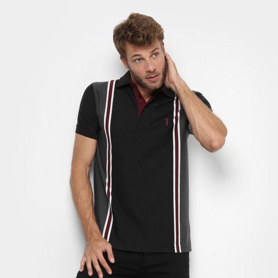 9ee0f071ce Camisa Polo Aleatory Malha Vertical Masculina - Compre Agora
