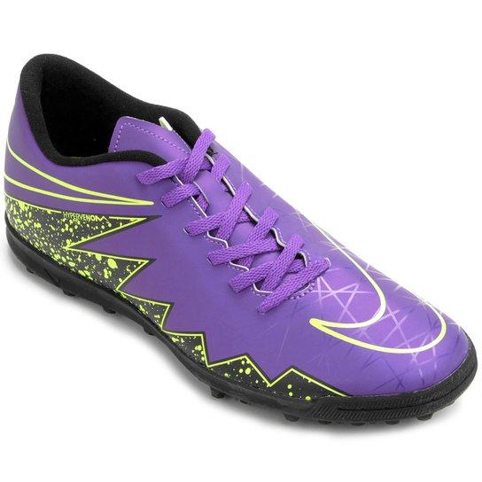 Chuteira Society Nike Hypervenom Phade 2 TF - Compre Agora  1f51cd09f77b1