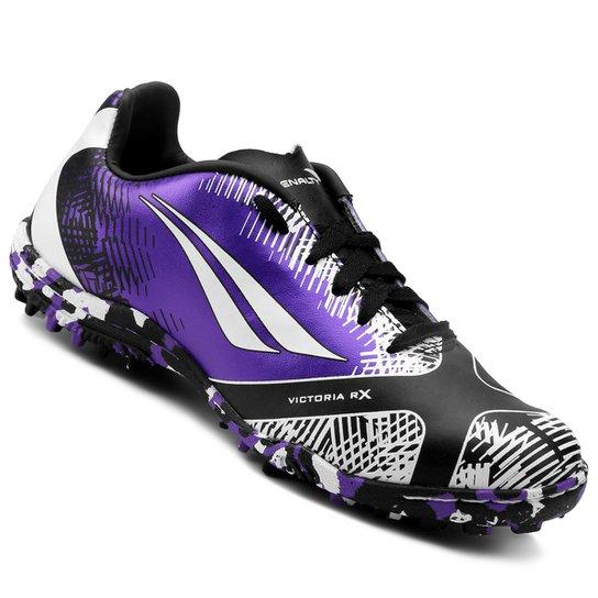 a25f38b4883b5 Chuteira Society Infantil Penalty Victoria K Soccer RX II 7 - Compre ...