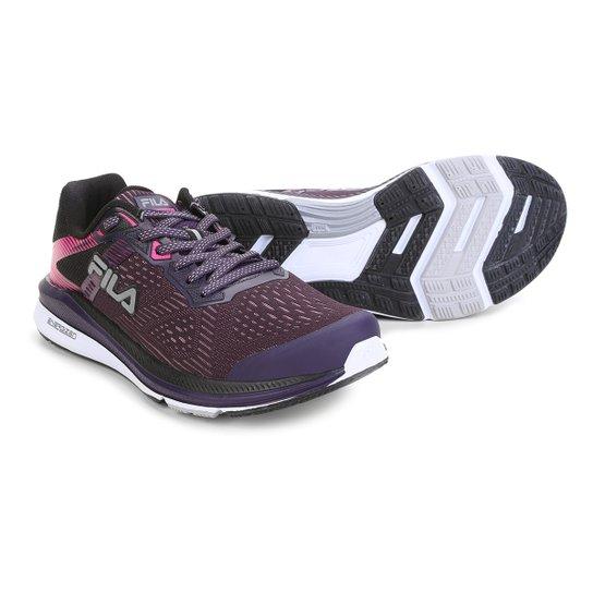 a940f6eb20 Tênis Fila Fr Trainer Feminino - Roxo e Preto - Compre Agora