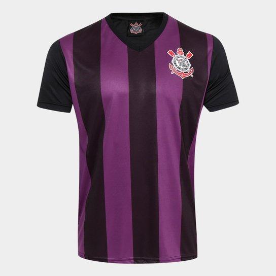 f2d3720899 Camisa Corinthians 2009 s n° Masculina - Roxo e Preto - Compre Agora ...