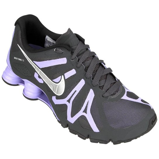 new products f4eca 9e634 Tênis Nike Shox Turbo+ 13 - Chumbo+Lilás