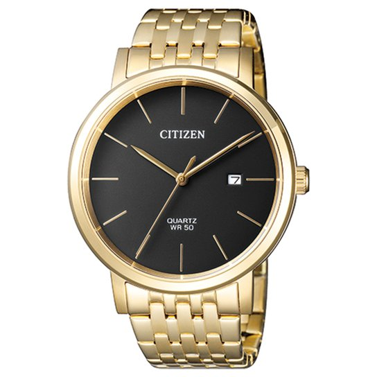 2b71e682ef1 Relógio Citizen Analógico TZ20699U Masculino - Dourado e Preto ...