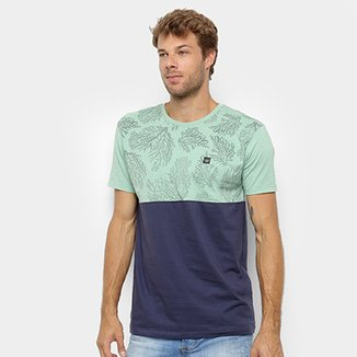 Camiseta Hang Loose Estampada Coral Masculina 254efaea040