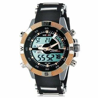 b22f3c41965 Relógio Weide Anadigi WH-1104