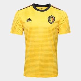 91c7ecaebe8f1 Camisa Bélgica Infantil Home 2018 s n° Torcedor Adidas - Compre ...