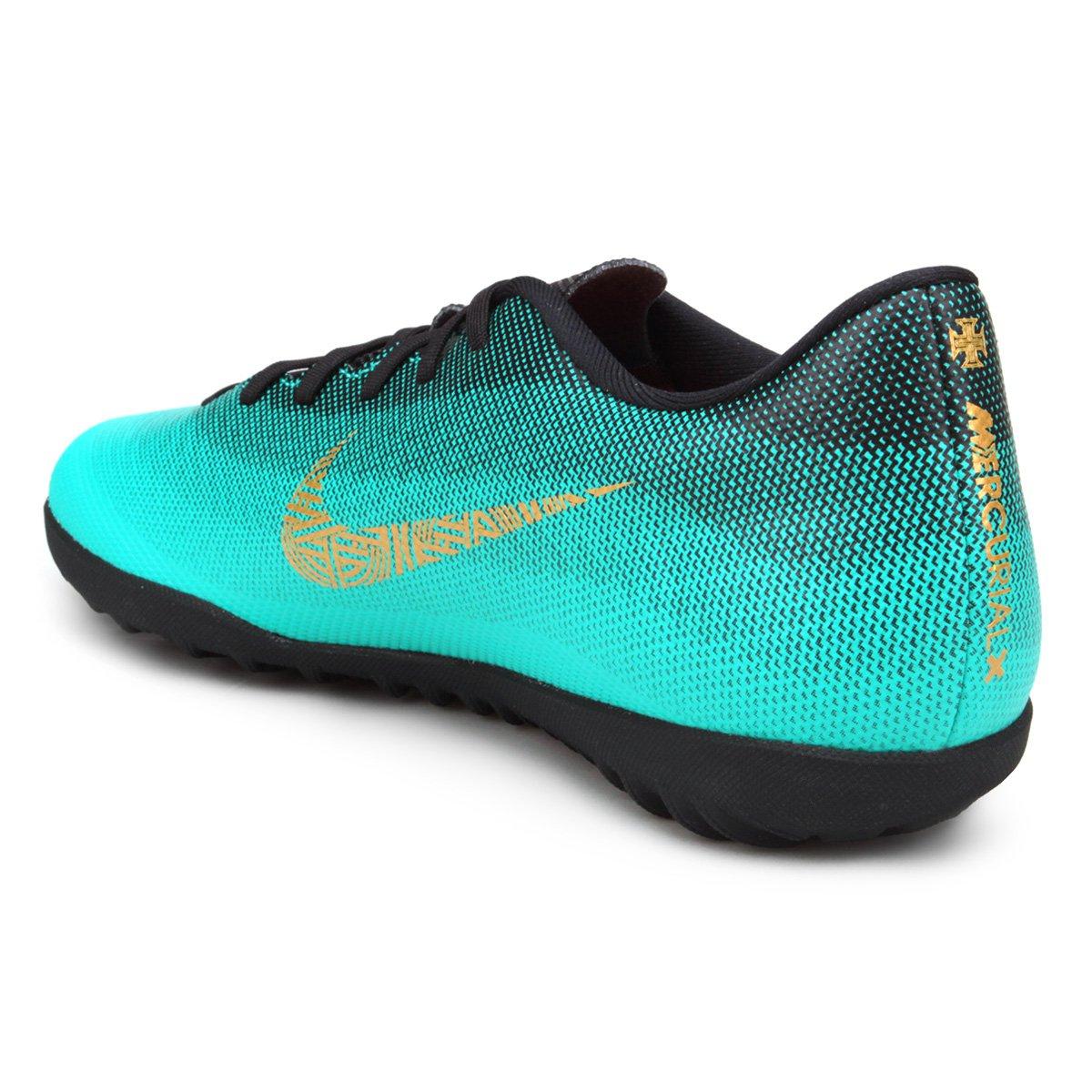 Chuteira Society Nike Mercurial Vapor 12 Club CR7 TF  63fce50bde8a2
