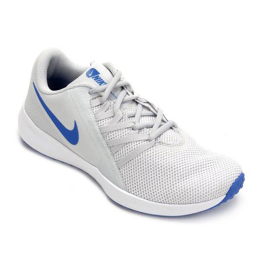 98e57fcabca Tênis Nike Varsity Compete Trainer Masculino - Off White e Azul ...