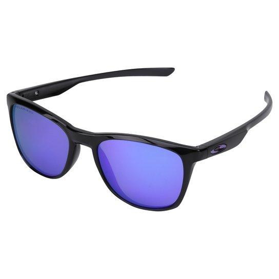 fee319eace797 Óculos de Sol Oakley Trillbe X Masculino - Preto e Roxo - Compre ...