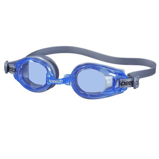 2acc4173d Oculos De Natacao Speedo Classic - Prata+Azul