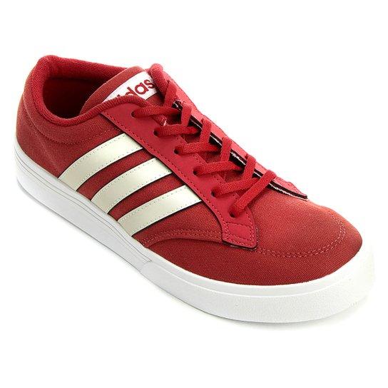 0397b34307c Tênis Adidas GVP Culture - Vermelho Escuro+Branco