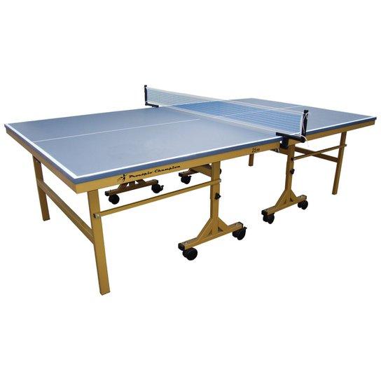 d9741e7ca Mesa de Ping Pong   Tênis de Mesa Procópio c  Rodizio 25mm MDP Champion -