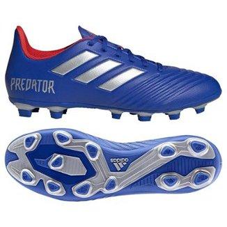Chuteira Campo Adidas Predator 19 4 FG 0f7c685dadbb2
