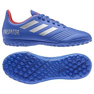 Chuteira Society Infantil Adidas Predator 19 4 TF 44cfceab16b33