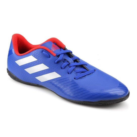 38e4eda76f Chuteira Futsal Adidas Artilheira III IN - Azul e Prata