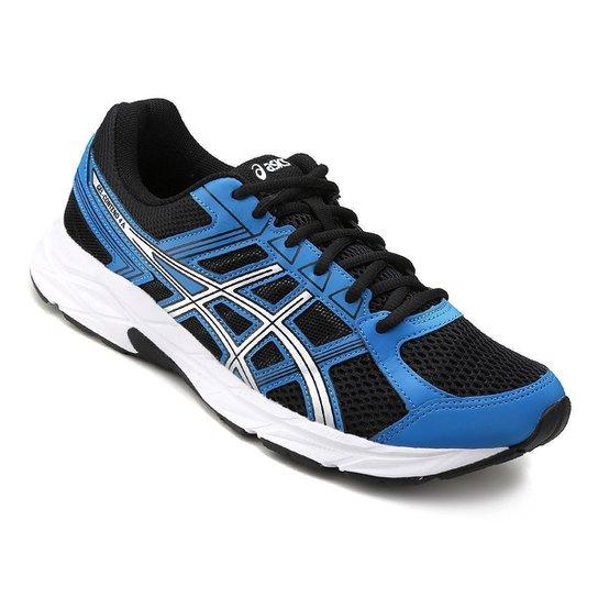 Tênis Asics Gel Contend 4 A Masculino - Azul e Preto - Compre Agora ... cbbeee50471c4