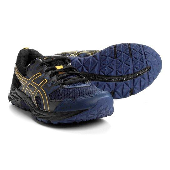 1a477e3784 Tênis Asics Gel Artic Masculino - Azul e Dourado - Compre Agora ...