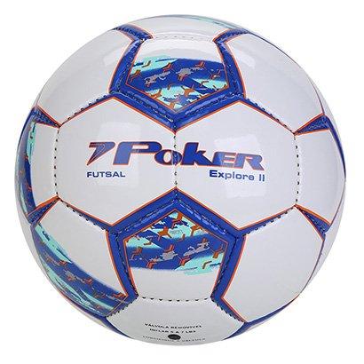 Bola de Futsal Poker Explorer II Training 32 Gomos