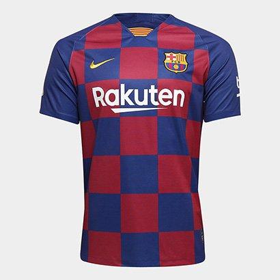 Camisa do Barcelona Home 19/20 s/nº Torcedor Nike Masculina