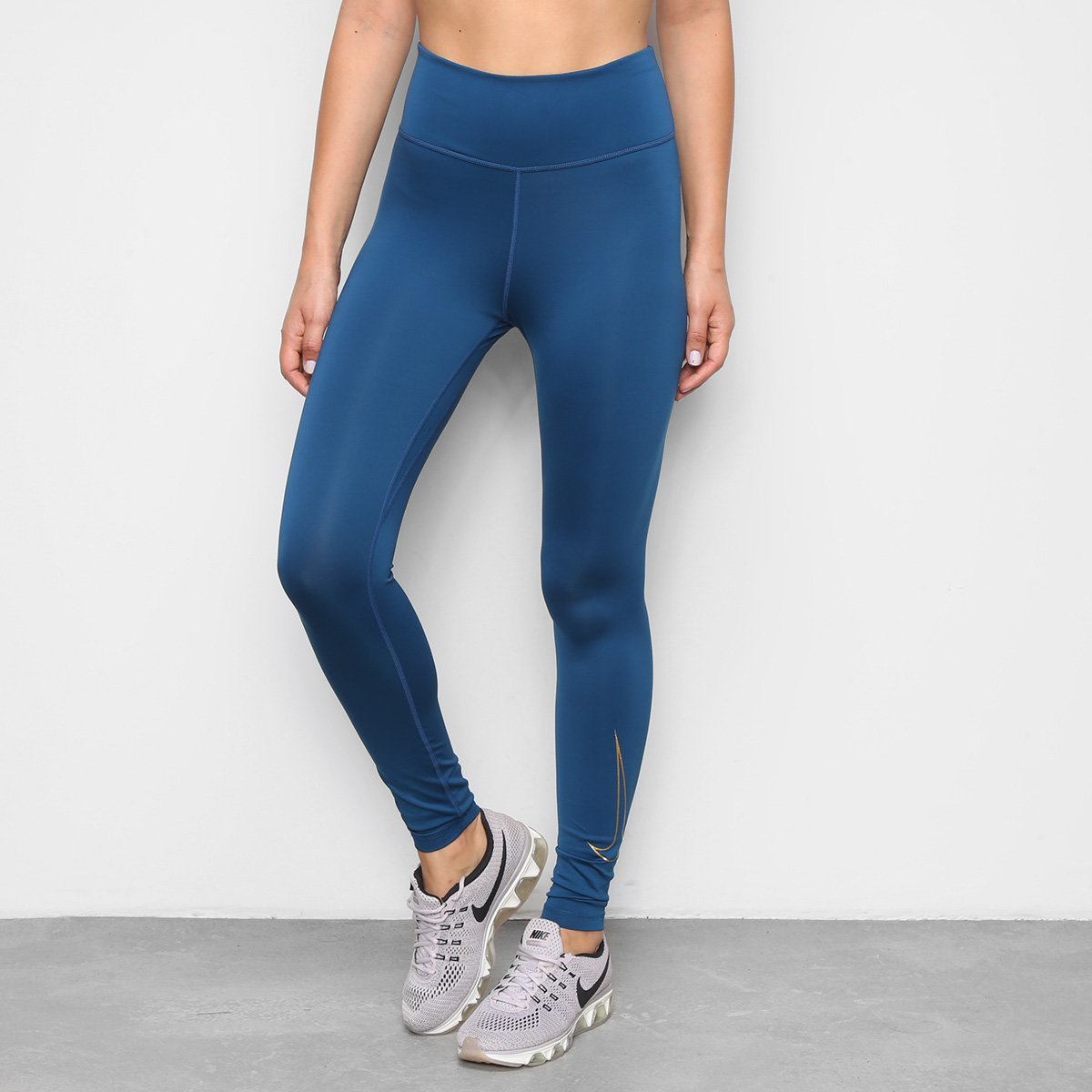 Calça Legging Nike One Icon Clash Feminina