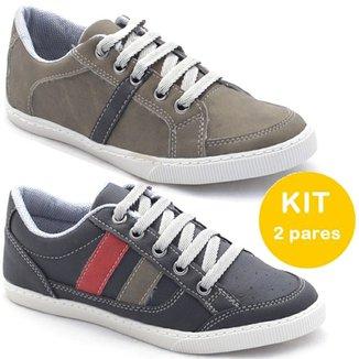 7aa8a10c9 Kit Sapatênis Dexshoes Infantil