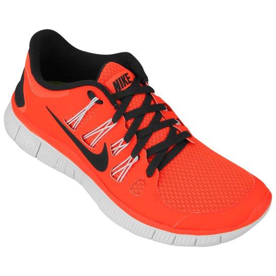 best website f9768 ac4b5 Tênis Nike Free 5.0+ - Laranja Escuro