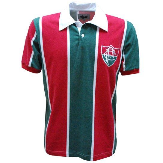 Camisa Liga Retrô Fluminense 1913 - Vermelho e Verde - Compre Agora ... 046fd57e71517