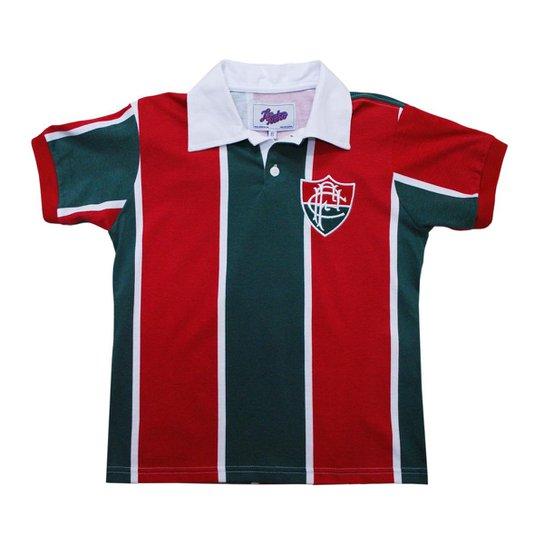 6c5dada763 Camisa Liga Retrô Fluminense 1913 - Vermelho e Verde - Compre Agora ...