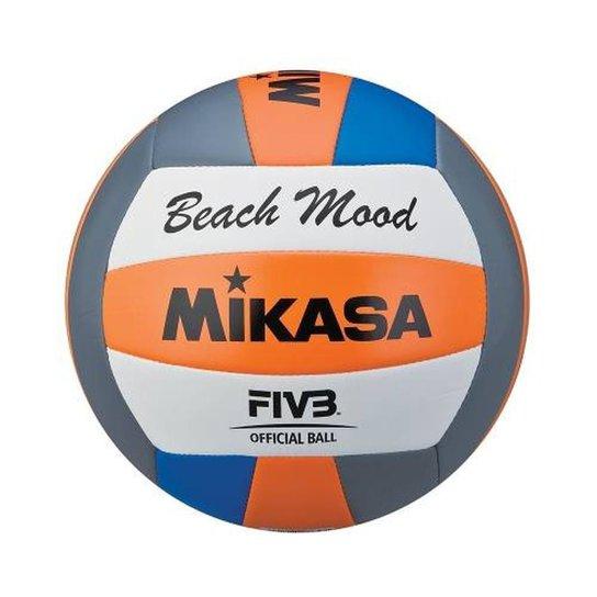Bola de Vôlei de Praia VXS-BMD-O Padrão FIVB Mikasa - Laranja e Azul ... 9a3647767d39a