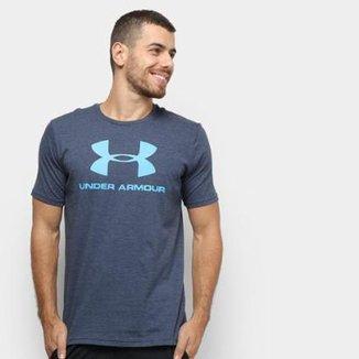 788817325 Camiseta Under Armour Sportstyle Logo 19 Masculina