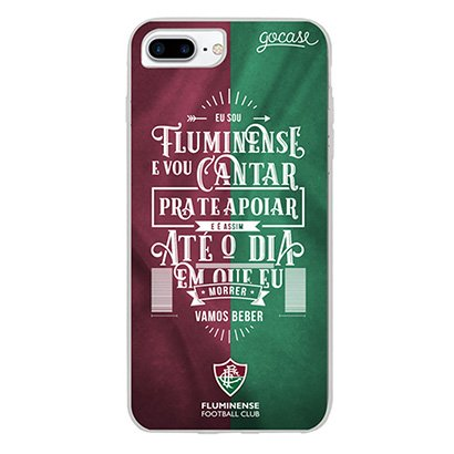 Capa de Celular Sou Fluminense - Para Iphone 6 7 8 Plus