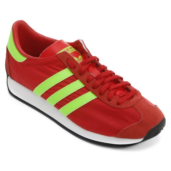 Tênis Adidas Country Og - Vermelho+Verde 8a07fe069e1e9