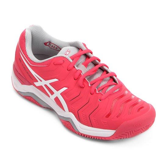 23917074a1 Tênis Asics Gel Challenger 11 Clay Feminino - Rosa   Netshoes