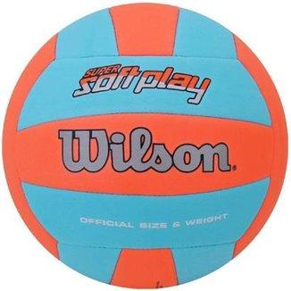 478c5a7a0f Compre Bola de Volei Wilson Soft Playnull Online