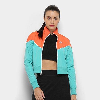 Jaqueta Nike Sportwear Heritage Track Feminina