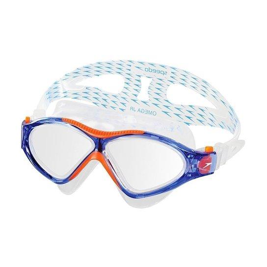 3b1d35df9 Óculos De Natação Speedo Omega Sf - Laranja e Azul | Netshoes