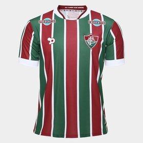 (27). Camisa Fluminense I 2016 s nº Torcedor Dryworld Masculina 5dc26d5a0a243