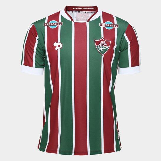 Camisa Fluminense I 2016 s nº Torcedor Dryworld Masculina - Vermelho+Verde ed4e6cee3aff7